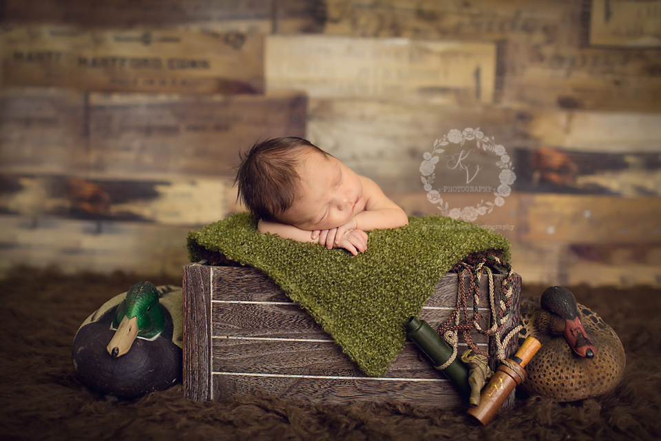 duck hunter, newborn