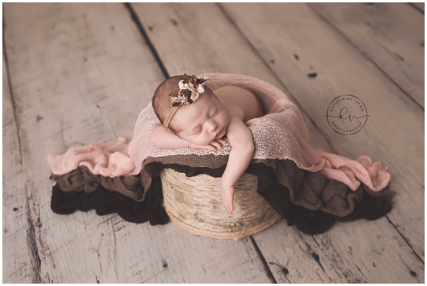 Sweet little rae of sunshine sacramento galt newborn photographer